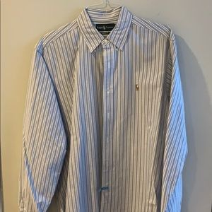 Polo by Ralph Lauren Long-Sleeve Striped Oxford
